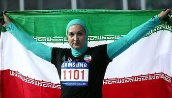 بانوی ورزشکار ایرانی در حال دوچرخه سواری در خیابان های تهران+عکس