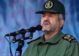 فرمانده سپاه درمراسم 13 آبان: اگر آمریکاییها میماندند انقلاب 40 سال عمر نمیکرد