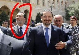 بادیگارد اصلی سعد حریری تنها به لبنان بازگشت + عکس