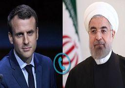 پیام روحانی به مکرون: اروپا فرصت زیادی را از دست داد