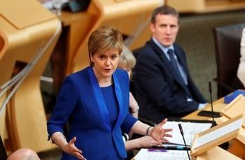 هشدار رهبر ناسیونالیست اسکاتلند به بوریس جانسون