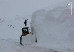 تصاویر برف 6 متری در ترکیه