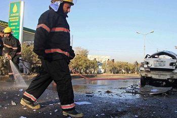 انفجار در نزدیکی محل سخنرانی «اشرف غنی»