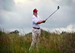 ترامپ چند درصد از زمان ریاست جمهوری خود را در زمین گلف گذرانده است؟