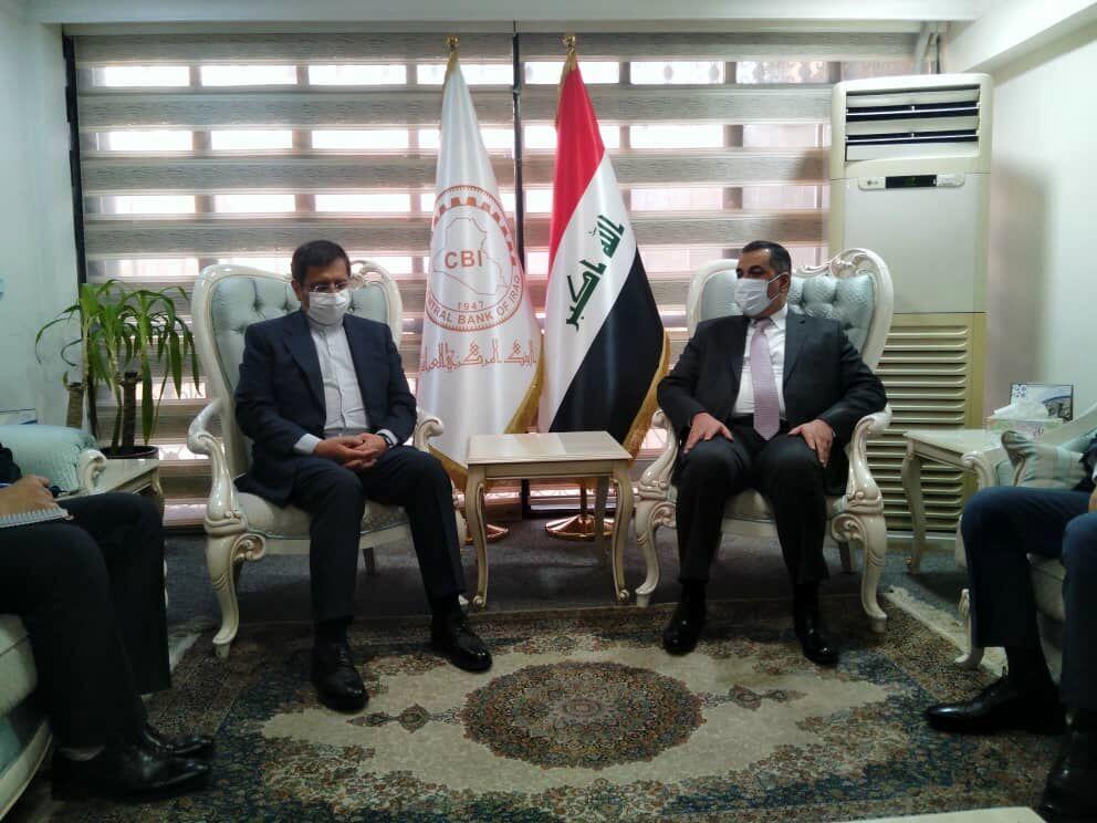 رئیس کل بانک مرکزی عراق بر حل مسائل بانکی با ایران تاکید کرد