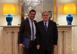 سخنان جالب شهاب حسینی پس از دریافت نشان شوالیه فرانسه+عکس