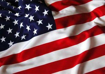 به آتش کشیده شدن پرچم آمریکا در سوریه+عکس