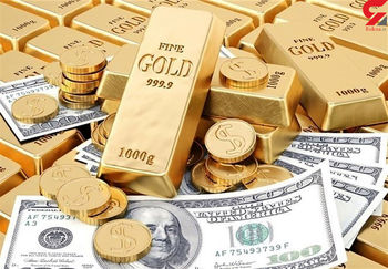 طلا صعودی شد/ دلار افت کرد