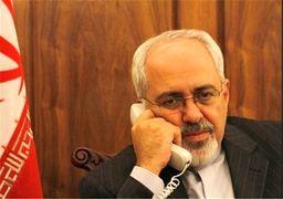 ظریف با وزیر خارجه فرانسه گفتوگو کرد