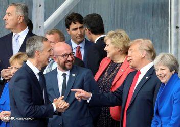 نشست سران کشورهای عضو ناتو در بروکسل بلژیک