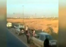 ماجرای پنچر شدن دهها خودرو در آزادراه قزوین - زنجان + فیلم