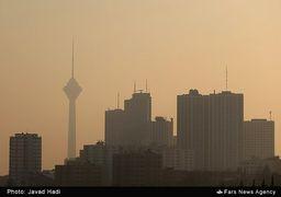 زلزله معادلات آلودگی هوای تهران را به هم زد/ صعود شاخص تا 187