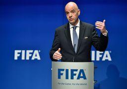 حمایت رییس فیفا از میزبانی قطر برای جام جهانی