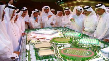 فینال جام جهانی فوتبال قطر در شهری که هنوز ساخته نشده! + تصویر ماکت