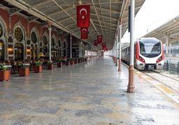 امروز اولین حرکت قطار تهران به ترکیه