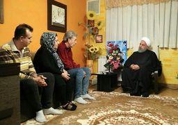 روحانی به دیدار خانوادههای شهید و جانباز ارمنی رفت