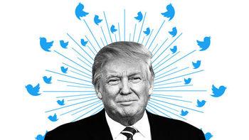 ظاهر شدن حساب توئیتری ترامپ با جستجوی واژه نژادپرست