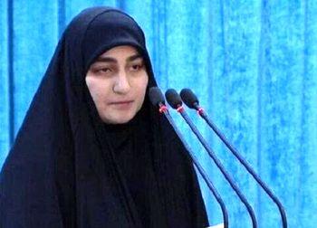واکنش دختر سردار سلیمانی به شکست ترامپ در انتخابات آمریکا