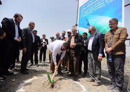 افتتاح چند طرح عمرانی و تولیدی در قلعه گنج