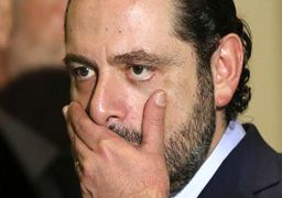 لحظات و رفتارهای عجیب و هیستریک در مصاحبه تلویزیونی سعد حریری + عکس