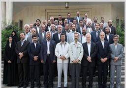 کدام یک از وزرای احمدینژاد هم چنان به او وفادارند؟ + جدول