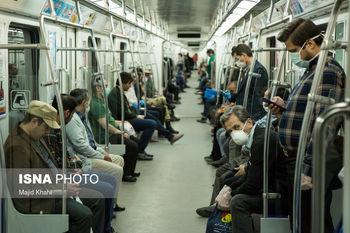 هشدار؛ مترو کانون کرونا در تهران شده است