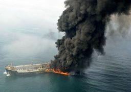 آخرین عکس زوج کشته شده در حادثه نفتکش روی عرشه سانچی + عکس