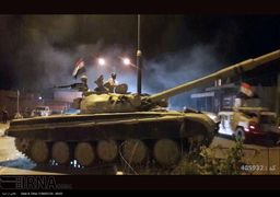 حرکت شبانه نیروهای عراقی برای کنترل کرکوک + عکس