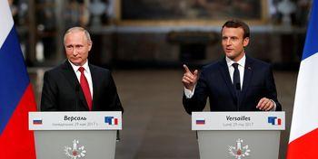 دستور فوری مکرون و پوتین به آذربایجان و ارمنستان