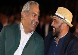 شوخی مهران مدیری با رضا عطاران + فیلم