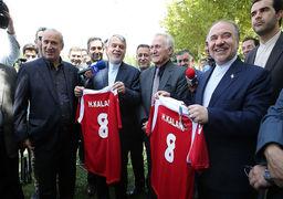 شوخی وزیر ورزش ایران با «مالدینی» !