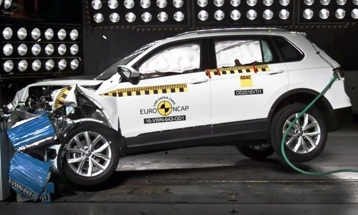 NCAP tests of tiguan 2018