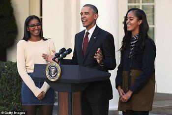 دختران اوباما در زمان اعتراضات نژادپرستی کجا بودند؟