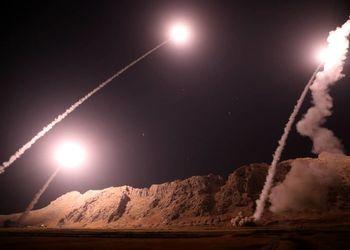 «انتقام سخت»  پایگاه آمریکایی عینالأسد در هم کوبیده شد +فیلم