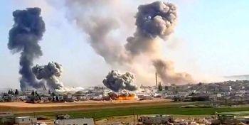 حملات بی امان جنگندههای ارتش سوریه