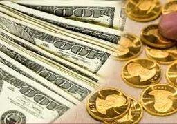 گزارش «اقتصادنیوز» از بازار طلا و ارز پایتخت؛ شکست مرز حمایتی حساس سکه در چهارمین روز متوالی افت دلار
