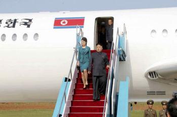 روسیه به خبر فرود هواپیمای کیم جونگ اون در این کشور واکنش نشان داد