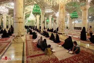 افطاری در حرم حضرت زهرا(س)11