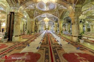افطاری در حرم حضرت زهرا(س)16