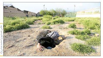 زندگی بیخانمانهای تهران در تونلهای زیرزمینی