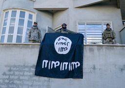 نیروهای عراقی پرجم داعش را از مسجد نوری به زیر کشیدند + عکس