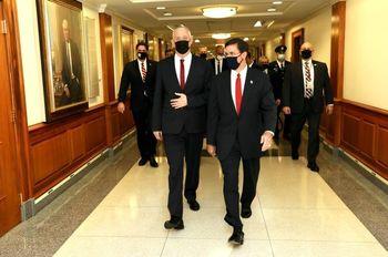 وزیر جنگ رژیم صهیونیستی در آستانه انتخابات در آمریکا مشغول چیست؟