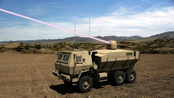 ارتش آمریکا به دنبال تکمیل ساخت یک سلاح لیزری قدرتمند متحرک+عکس