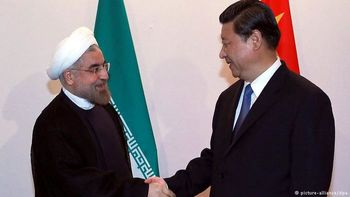 دیدار روحانی و رئیس جمهور چین