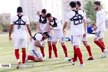 تمرین امروز تیم ملی فوتبال