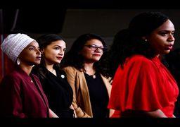 جنجال تازه ترامپ با «چهار زن پیشرو» + فیلم