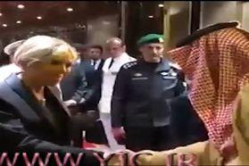 طرز برخورد جالب ولیعهد عربستان با همسر رئیس جمهوری فرانسه + فیلم