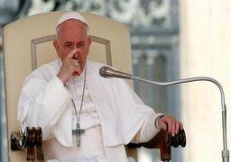 پاپ رهبر کاتولیکهای جهان در آسانسور گیر افتاد!