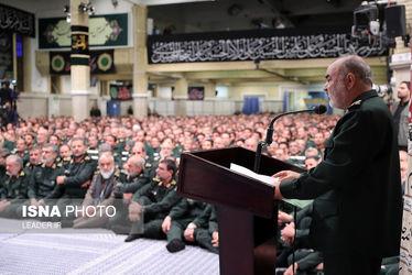 دیدار فرماندهان سپاه پاسداران با مقام معظم رهبری