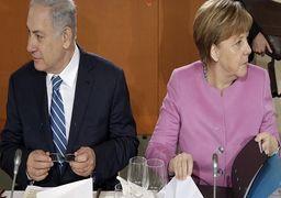 اختلاف نظر مرکل و نتانیاهو بر سر ایران